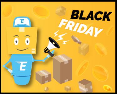 Сделка за Черен петък - Заяви 5 пратки, плати за 4!